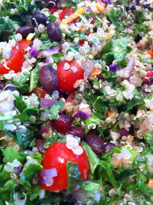 Kale:quinoa