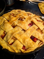 Apple & Cranberry Harvest Pie