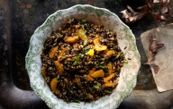 Wild Rice, Farro and Tangerine Salad