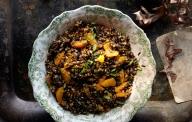 Wild Rice, Farro and Tangerine Salad