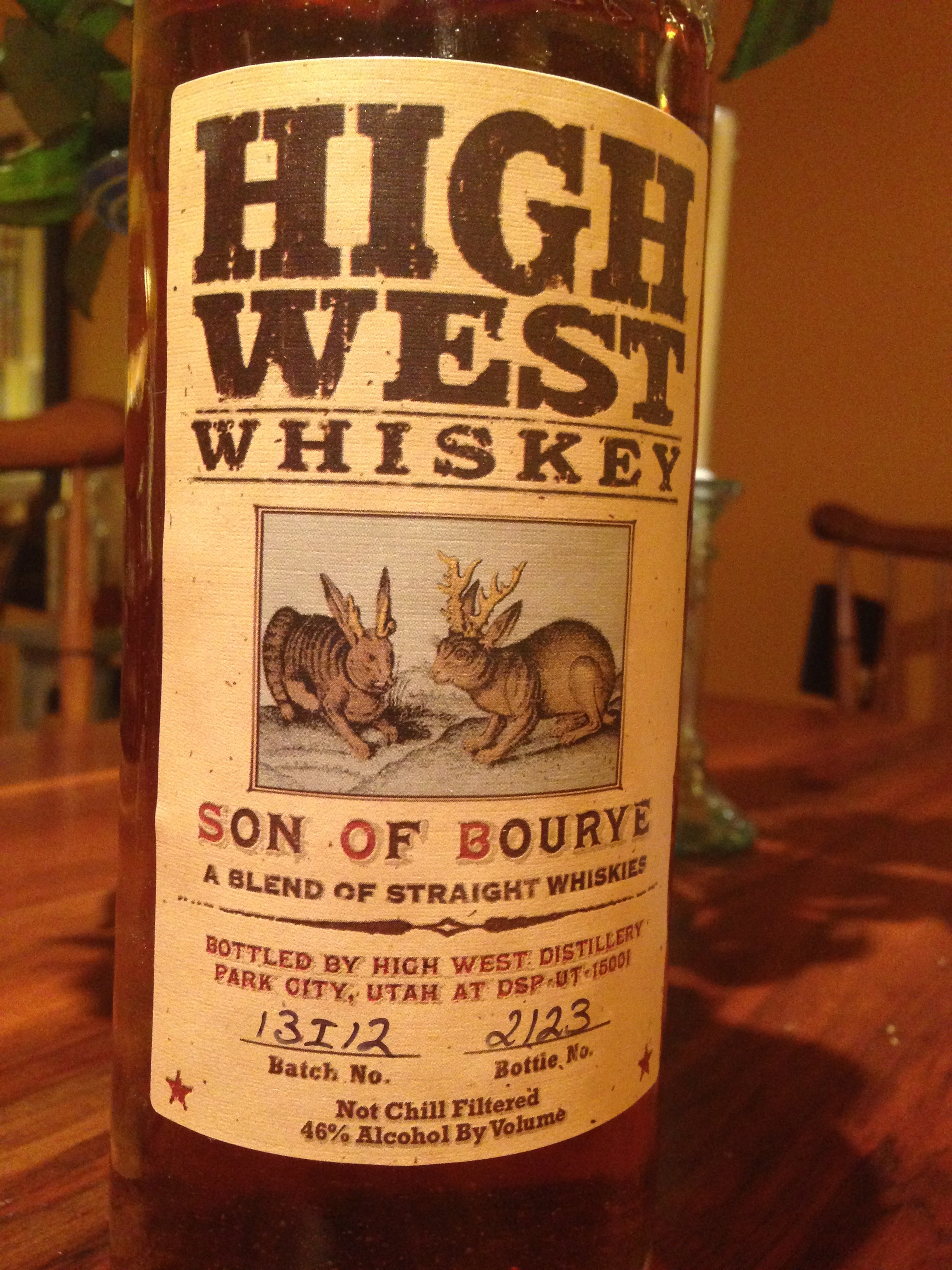 I Used Some Local Park City High West Whiskey To Make This Drink Which  Makes It Extra Special! Son Of Bourye Is An Amazing Blend Of Bourbon And  Rye Whiskey ...